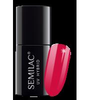 Semilac, 153 Lakier hybrydowy UV Hybrid Semilac Red Magnat 7 ml
