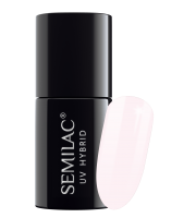Semilac, 155 Lakier hybrydowy UV Hybrid Semilac Ivory Cream 7 ml