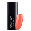 Semilac, 038 Lakier hybrydowy UV, Coral Beach, 7 ml