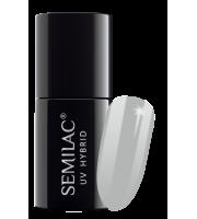 Semilac, 183, Lakier hybrydowy UV Hybrid Semilac Grey Pepper 7 ml