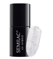 Semilac, 185 Lakier hybrydowy UV Hybrid Semilac Majesty Waltz 7ml
