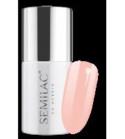 Semilac, 195 Lakier hybrydowy UV Hybrid Semilac Business Line Soft Apricot 7 ml