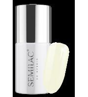 Semilac, 197 Lakier hybrydowy UV Hybrid Semilac Business Line White Lime 7 ml
