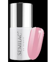Semilac, 198 Lakier hybrydowy UV Hybrid Semilac Business Line Powder Pink 7ml