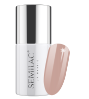 Semilac, 202 Lakier hybrydowy UV Hybrid Semilac Business Line Grey Brown 7ml