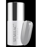 Semilac, 207 Lakier hybrydowy UV Hybrid Semilac Business Line Formal Grey 7ml