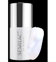 Semilac, 217 Lakier hybrydowy UV Hybrid Semilac Business Line Pearl White 7ml