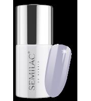 Semilac, 224 Lakier hybrydowy UV Hybrid Semilac Business Line Official Grey 7ml