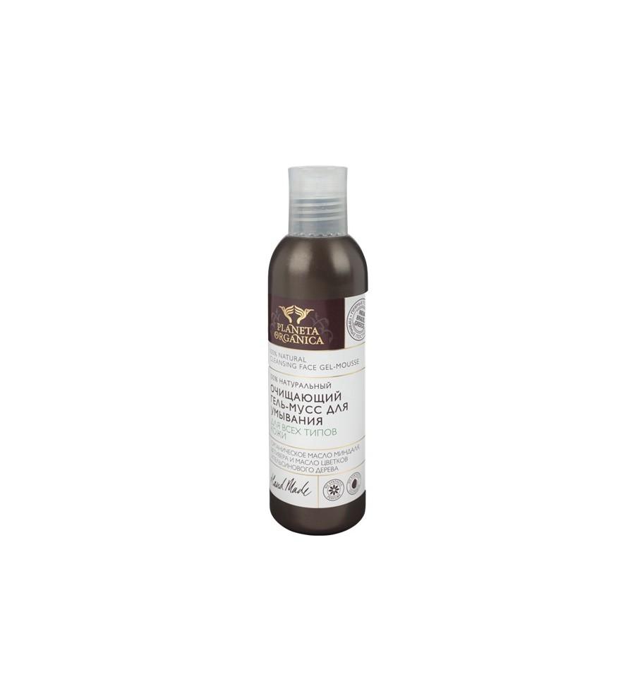 Planeta Organica, Oczyszczający żel-mus, 200 ml