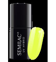 Semilac, 040 Lakier hybrydowy UV, Canary Green, 7 ml