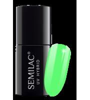 Semilac, 041 Lakier hybrydowy UV, Caribbean Green, 7 ml