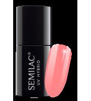 Semilac, 274 Lakier hybrydowy UV Hybrid Semilac PasTells Salmon Pink 7ml