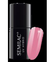 Semilac, 060 Lakier hybrydowy UV, Bubblegum Pink, 7 ml