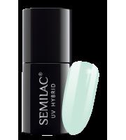 Semilac, 508 Lakier hybrydowy UV Hybrid Semilac Mint Cream 7ml