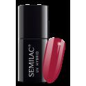 Semilac, 066 Lakier hybrydowy UV, Glossy Cranberry, 7 ml