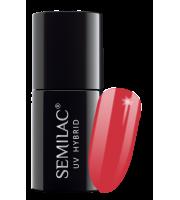 Semilac, 067 Lakier hybrydowy UV, Juicy Strawberry, 7 ml