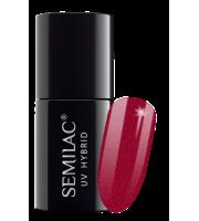 Semilac, 070 Lakier hybrydowy UV, Pearl Red, 7 ml