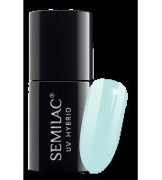 Semilac, 072 Lakier hybrydowy UV, Caribbean Sky, 7 ml