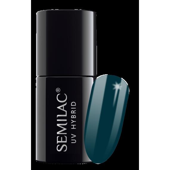 Semilac, 074 Lakier hybrydowy UV, Prussian Blue, 7 ml