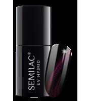 Semilac, 637 Lakier hybrydowy Semilac Cat Eye 3D Violet, 7 ml