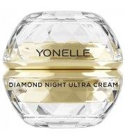 Yonelle, Diamentowy Ultra Krem na noc na twarz i usta, 50 ml