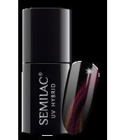 Semilac, 639 Lakier hybrydowy Semilac Cat Eye 3D Pink, 7 ml