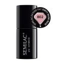 Semilac, Lakier hybrydowy 802 Semilac Extend 5in1 Dirty Nude Rose 7 ml