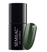 Semilac, 079 Lakier hybrydowy UV, Dark Green Pearl, 7 ml