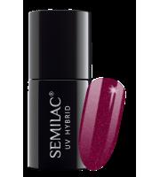 Semilac, 098 Lakier hybrydowy UV, Elegant Cherry, 7 ml