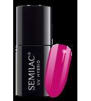 Semilac, 121 Lakier hybrydowy UV, Ruby Charm, 7 ml