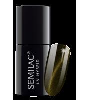 Semilac, 612 Lakier hybrydowy Semilac Cat Eye Gold, 7 ml