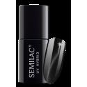 Semilac, 614 Lakier hybrydowy Semilac Cat Eye Silver, 7 ml