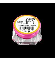Żel SemiArt, UV Gel 007 Yellow, 5 ml