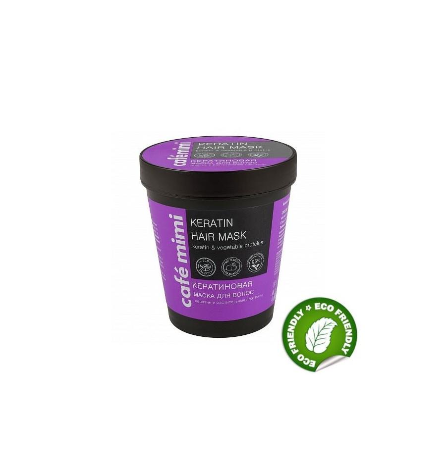 Le Cafe Mimi, Maska do włosów KERATYNOWA, 220 ml