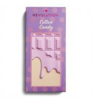 Makeup Revolution, Paleta cieni Chocolate Cotton Candy, 22 g