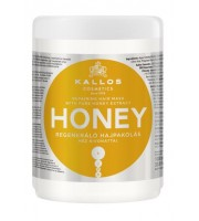 Kallos, Maska do włosów Honey, 1000 ml