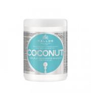Kallos, Coconut, Maska do włosów, 1000 ml