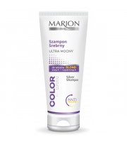 Marion, Szampon srebrny ultra mocny do włosów blond, 200 ml