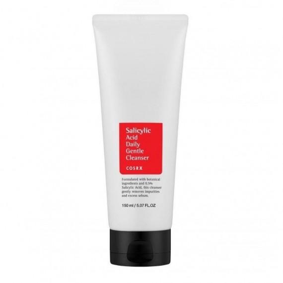 COSRX, Salicylic Acid Daily Gentle Cleanser, Pianka myjąca do twarzy z kwasem salicylowym, 150 ml