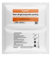 Lynia, Papaja & ananas, Enzymatyczny peeling w żelu peel-off, 39 g