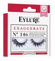 Eylure, Sztuczne rzęsy z klejem, Efekt podwójnej objętości, No 146 Exaggerate