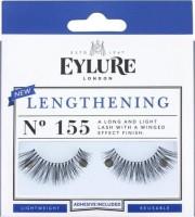 Eylure, Sztuczne rzęsy z klejem, Efekt wydłużenia, No 155 Lenghtening