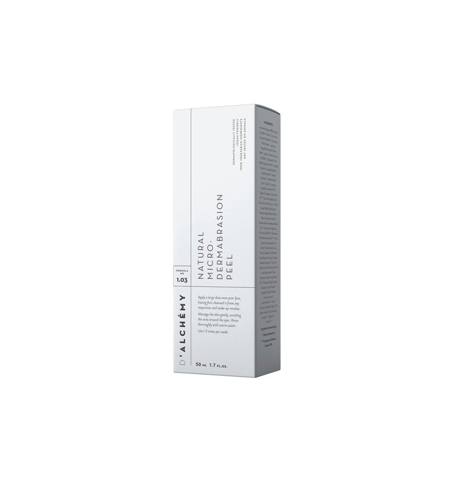D'ALCHEMY, NATURAL MICRO-DERMABRASION PEEL, Peeling do twarzy, 50 ml