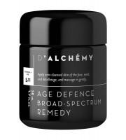 D'ALCHEMY, AGE DEFENCE BROAD-SPECTRUM REMEDY, Krem na zmiany hormonalne i przebarwienia, 50 ml