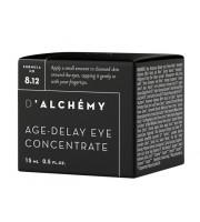 D'ALCHEMY, AGE-DELAY EYE CONCENTRATE, Koncentrat pod oczy niwelujący oznaki starzenia, 15 ml