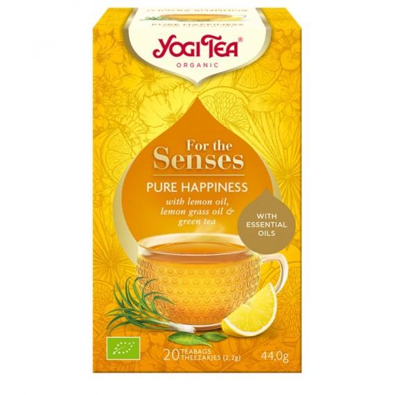 Yogi Tea, Herbata For the senses, Czysta Radość BIO, 20 torebek