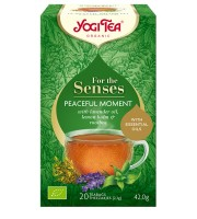 Yogi Tea, Herbata For the senses, Chwila spokoju BIO, 20 torebek