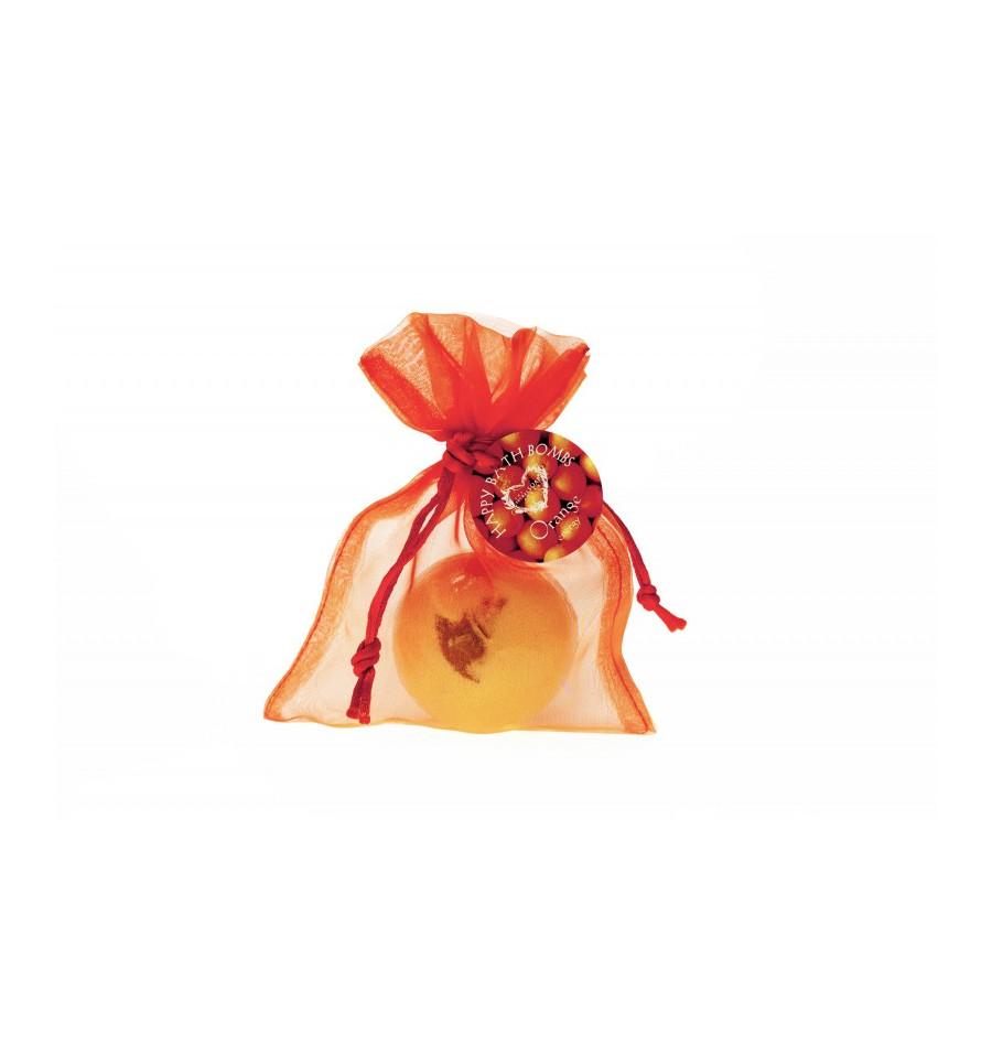 Scandia Cosmetics, Pomarańcza, Kula musująca do kąpieli, 100 g
