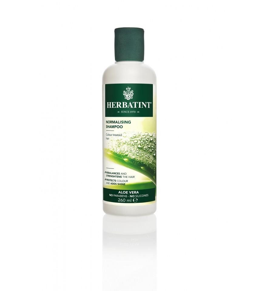 Herbatint,  Aloesowy szampon normalizujący, 260 ml