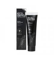 Ecodenta, Czarna pasta do zębów wybielająca Z WĘGLEM DRZEWNYM, 100 ml